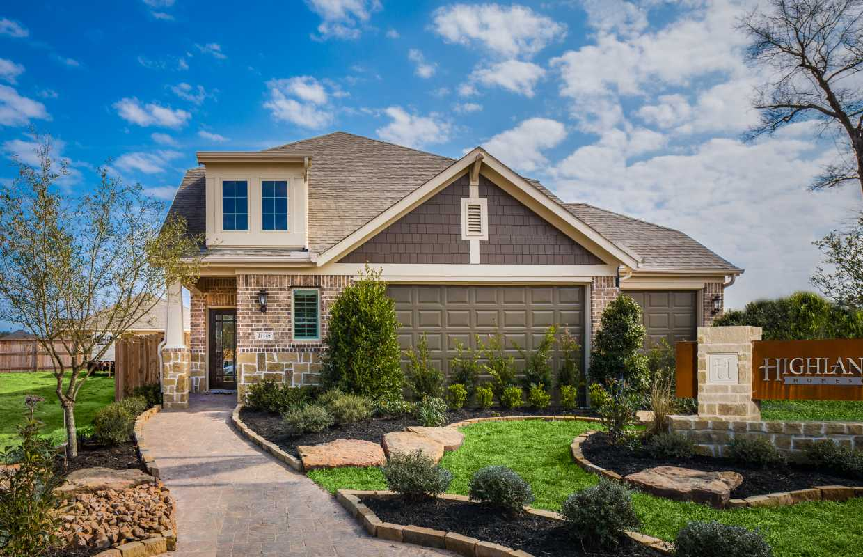 Kingwood area home builders valley ranch for Ranch model homes