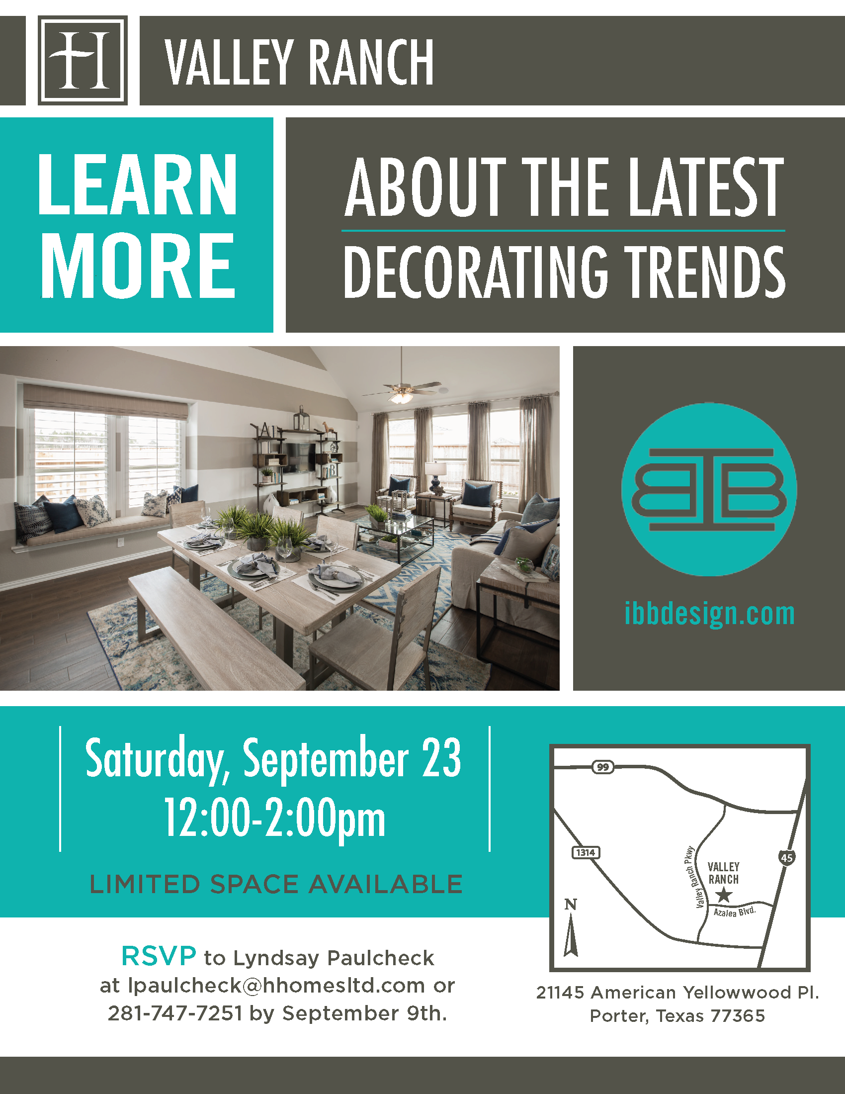 Highland Homes Design Seminar