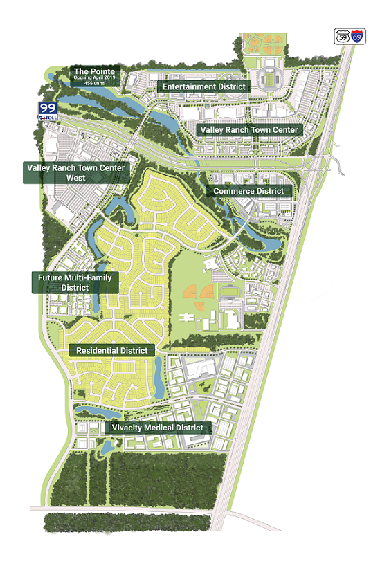 Overview of Valley Ranch Community
