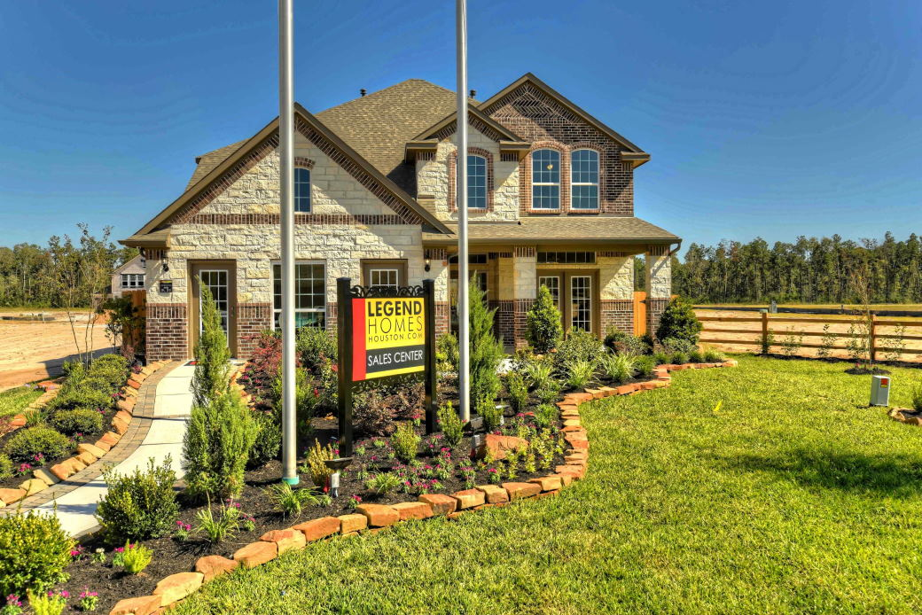 New homes for sale in kingwood tx valley for Ranch model homes