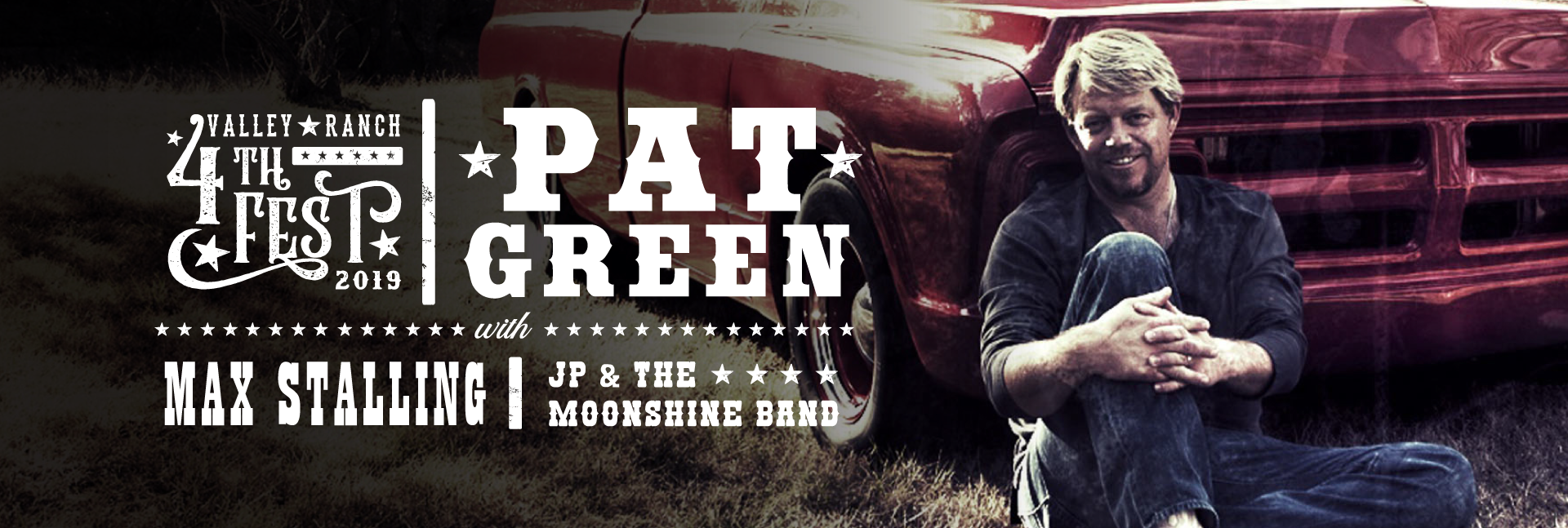 Pat Green to Headline Valley Ranch 4th Fest